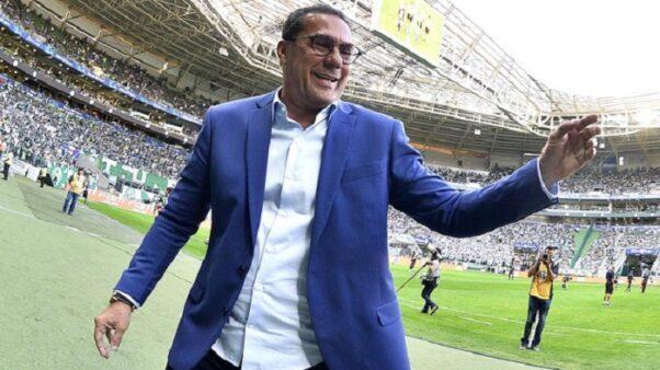 Vanderlei Luxemburgo no Palmeiras