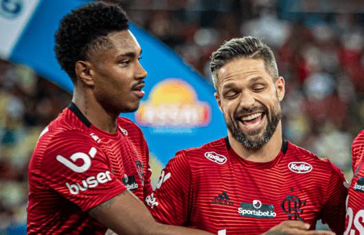 Diego e Vitinho no Flamengo