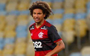 Arão jogador do Flamengo