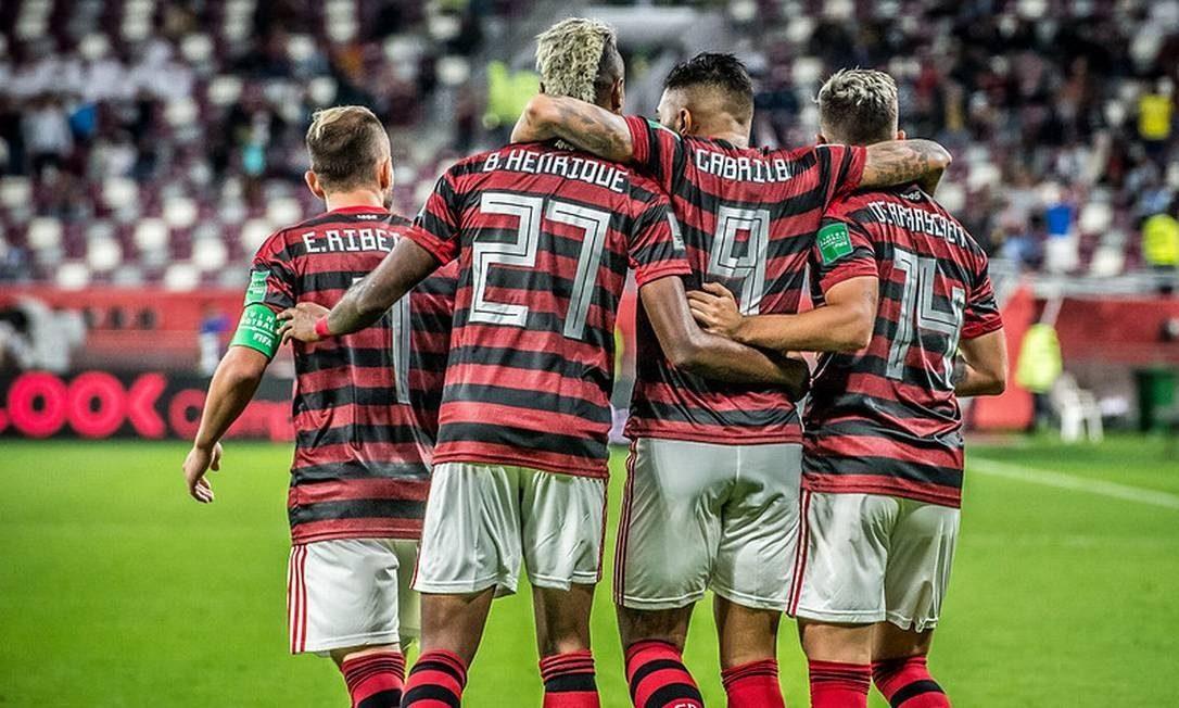Escalação do Flamengo