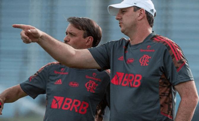 Alexandre Vidal/Flamengo / Ceni